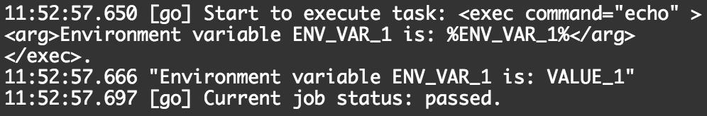 Use Environment Variables in GoCD | GoCD User Documentation