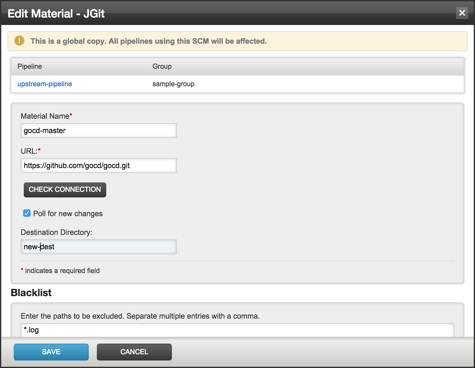 SCM Extension | GoCD User Documentation