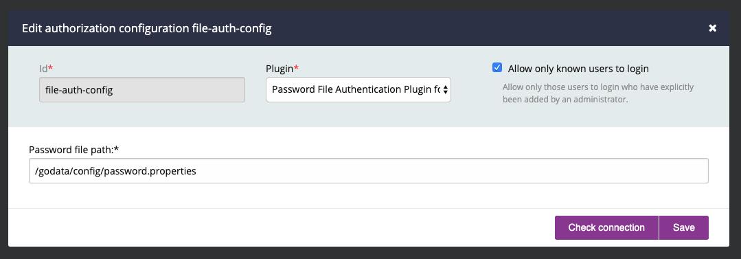 Authentication | GoCD User Documentation