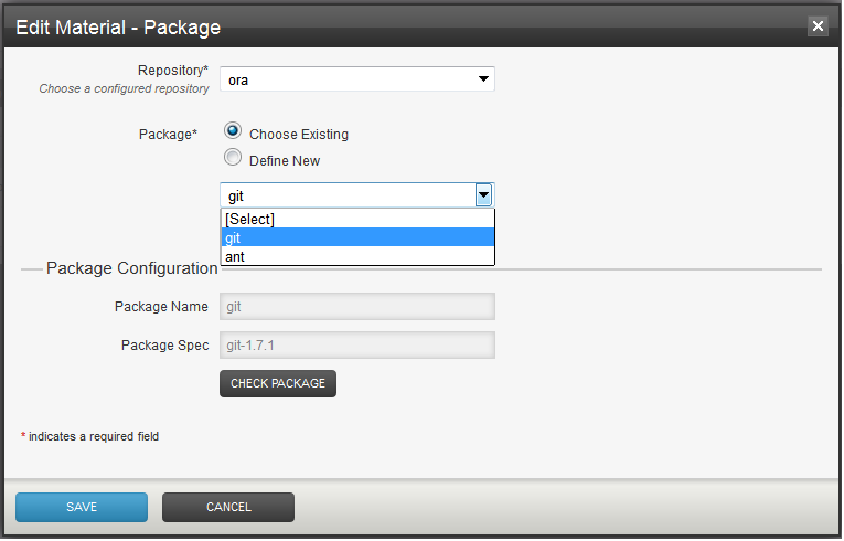 Package Repository Extension | GoCD User Documentation